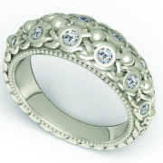 matrix-knot-bezel-ring